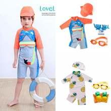 Для маленьких мальчиков дети с Кепки ананас акулы пляжная одежда