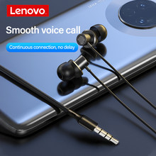Lenovo thinkplus tw13 Earphone In -ear Wired Earphones Stereo Bass with Microphone 3.5mm Noise Reduction Headphones for IOS Andr