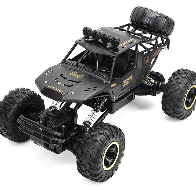 RC Car 1/12 4WD Monster Truck Rock Crawler Large Size Remote Control  Off Road Car Waterproof 2.4Ghz Remote Control cars for Kid 2