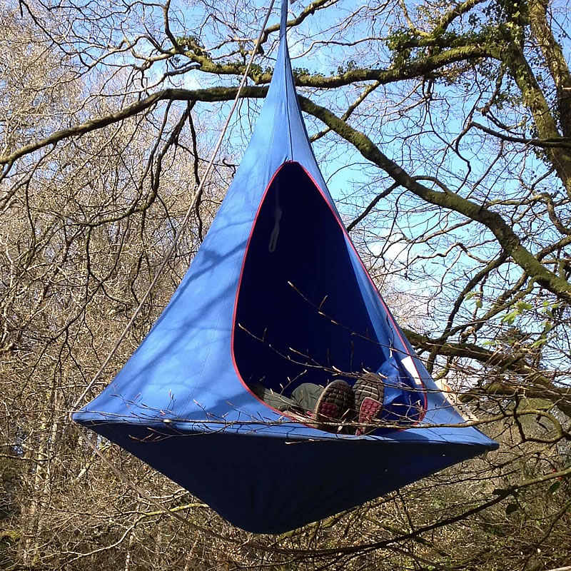 Swing Hammock Chairs Seat Teepee Tree Pod Outdoor Hanging Camping