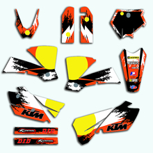 decal for ktm 2019 sx sxf 125 150 250 350 450 racing motorcycle dirt bike sticker graphic for ktm sx f Decal Sticker Motorcycle For KTM SX 125 150 200 250 300 350 400 450 525 2003 2004 Graphics Backgrounds Stickers Accessories