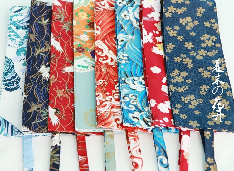 Origional Self-Made Japanese Style And Wind Kimono Harajuku Bathrobe Literature Children Retro National Wind Girdle Belt