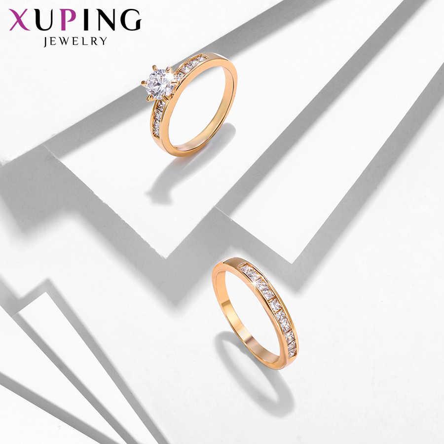 Xuping خاتم الموضة عالية الجودة الكلاسيكية الساحرة الحب الدائري للرجال النساء مجوهرات هدايا عيد الحب S212-12888