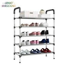 New arrival włókniny wielowarstwowe stojak na buty z poręczą półka do łatwego montażu przechowywanie organizer stojak uchwyt zachować pokój schludny