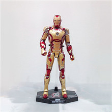 Anime Figure Iron Man MK42 Movable Action Figure Collectible Model Toys For Boys