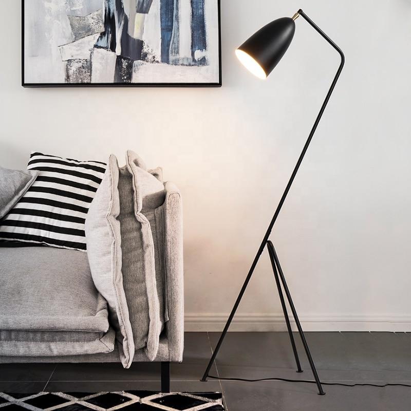 Living Room Deco Vintage Floor Light Fixture LED Edison Bulb Source Colorful Metal Floor Standing Lamp Bedroom Nordic Lamp
