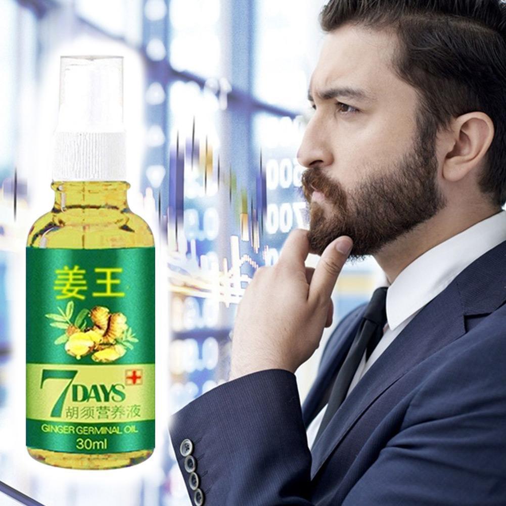 209Hot Sales Unisex Anti Hair Loss Treatment Serum Hair Ginger Hair Oil Women Regrowth Growing Extract Beard Care Men Organ S9K9