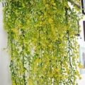7 forquilha spray pinheiro plástico plantas artificiais pinheiro verde plantas de flores de plástico casamento casa vaso decoração de mesa plantas do falso