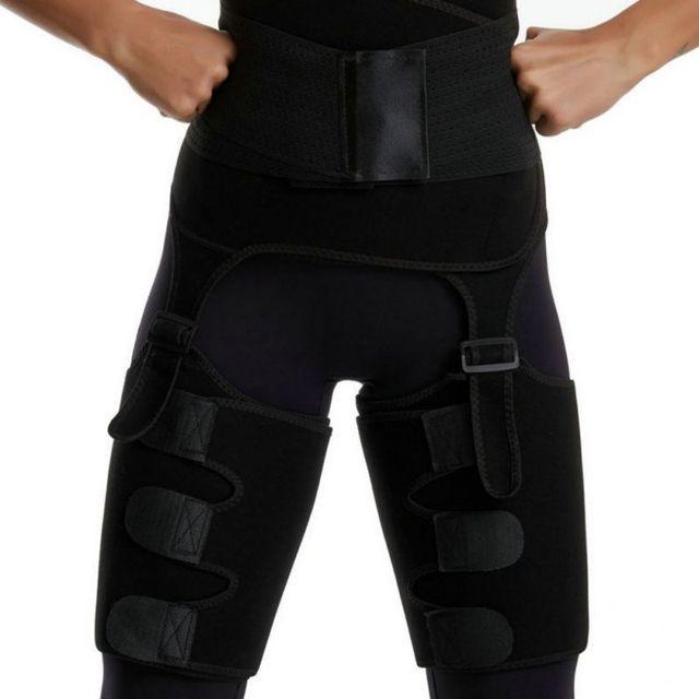 Adjustable Waist Bandage Sweat Body Shapers Slimming One-piece Hip Belt Arm Sweat Belt Buttocks Trainer Shaper Belt 2