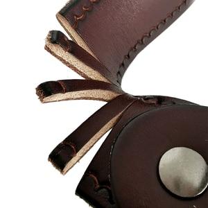 Image 5 - Cinto de couro genuíno masculino, cinto de couro genuíno para calças de brim, cinto vintage com fivela, para homens