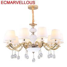 De Techo Colgante Moderna Para Comedor Industrial Home Gantung Crystal Luminaria Lampen Modern Hanging Lamp Loft Pendant Light