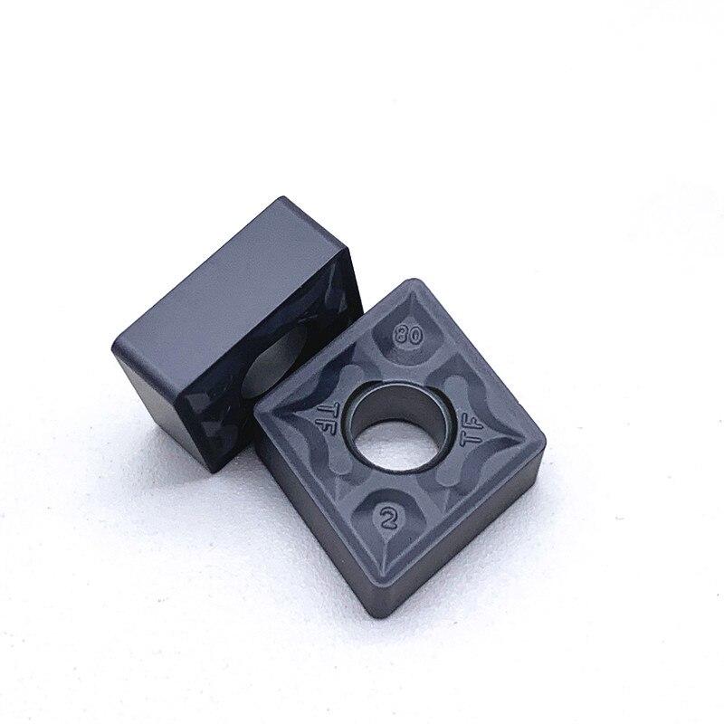 Купить с кэшбэком 10PCS CNMG120408 TF IC907/IC908 External Turning Tools CNMG 120408 Carbide insert Lathe cutter Tool turning insert