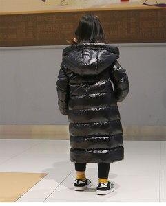 Image 4 - OLEKID 2020 kalın sıcak kızlar kış ceket su geçirmez aşağı ceket kızlar için 2 12 yaş çocuk erkek giyim ceket çocuklar Parka