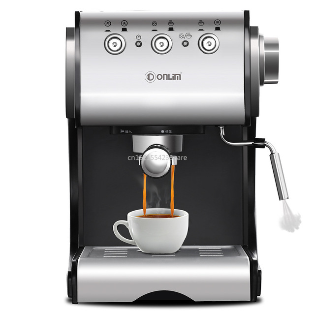 1350W/20Bar/1.5L Italian Coffee Machine Electric Semi-automatic Coffee Maker High Pressure Extraction/Double Temperature Control 1