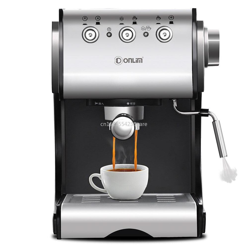 1350 W/20Bar/1.5L cafetera italiana cafetera eléctrica semiautomática Extracción de alta presión/doble Control de temperatura