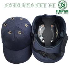 Yeni iş güvenliği yumru şapka kask beyzbol şapkası tarzı koruyucu güvenlik baret çalışma sitesi giymek kafa koruma