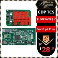 CDP TCS cdp pro plus Bluetooth. R3,00 keygen программное обеспечение OBDII считыватель кодов автомобилей грузовиков OBD 2 диагностический инструмент OBD2 сканер