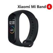 Mi-Band Smart-Bracelet Xiaomi Fitness Bluetooth Sport Waterproof Traker 4 OLED 3-Color