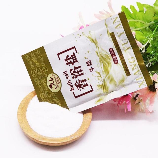 30g Rose Bath Powder Foot Bath Salt Body Foot Skin Care SPA Bath Salt Exfoliation Scruber Dead Skin Remover 1