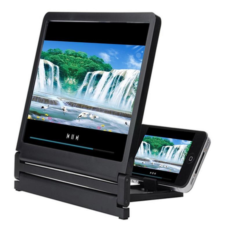 Mobile Phone Screen 3D Magnifier Screen Enlarge 2-3 Times High Definition Amplifier Foldable DU55