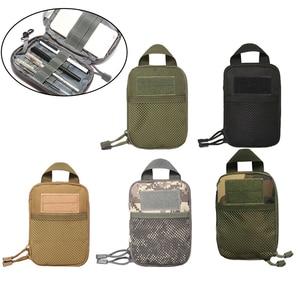 Outdoor Military Tactical Waist Bag EDC Molle Tool Zipper Waist Pack Accessory Durable Belt Pouch