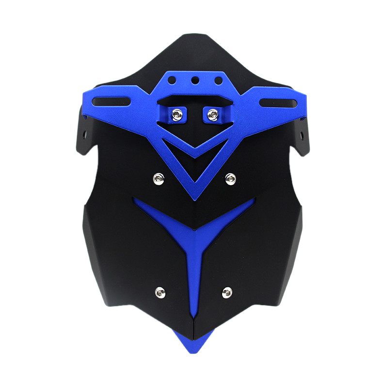 Motorcycle Rear Fender Racing Registration Plate Holder Motocross Modified Frames Fittings Accessories For Yamaha Mt07 Fz09 Z800|  - title=