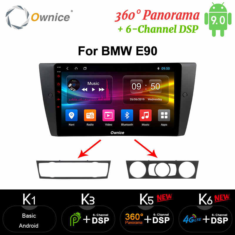 9 Cal Ownice samochodowe multimedia carplay odtwarzacz gps Android 9.0 octa core dla BMW E90 wideo automotivo Radio 2G 4G LTE DVR DAB + TPMS