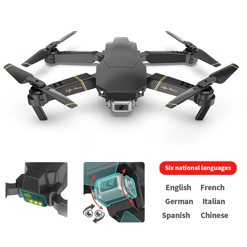 Global Drone GD89 with HD 1080P Camera Live Video Drone X Pro Whole Set RC Helicopter FPV Quadrocopter Drones image