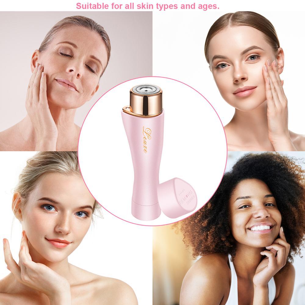 Women Electric Epilator Facial Bikini Hair Removal Portable Waterproof Shaver Razor Depilador Face Care Beauty Appliance Tool