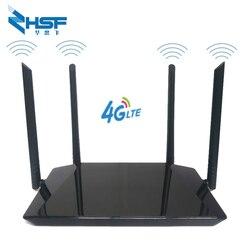 جهاز توجيه هوت سبوت واي فاي محمول 4G LTE CPE مع فتحة بطاقة SIM نقطة اتصال محمولة 2.4G 300mbps جهاز توجيه واي فاي 300mbps مع هوائي خارجي