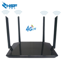 300mbps router 4G LTE CPE mobile wifi hotspot router 2.4G portable hotspot with Lan port SIM card slot for 32-bit users