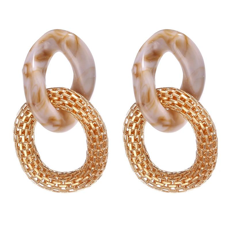 Women Vintage Boho Earrings Crystal Flower Star Heart Dangle Earrings Long Big Earrings Statement Bohemian Jewelry 2020
