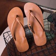 Summer Flip Flops Men Slippers Summer Letter Grain Outdoor Light Casual Beach Shoes Man Sandals Slipper for Men Indoor Shoes