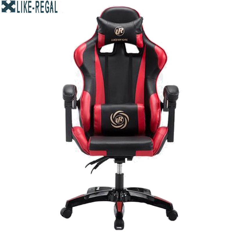 LIKE REGAL boss chair/office/High density inflatable sponge/ can lie down /360 degrees can be rotated/computer chair