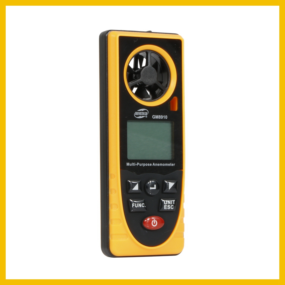 Portable RZ GM816 Wind Speed Meter Used as Anemometer with LCD Display Useful for Windsurfing 39