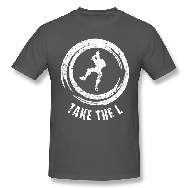 Fortniter мужские футболки топы Юмористические хлопковые футболки Возьмите L футболки круглый воротник одежда подарок идея размера плюс беспла...