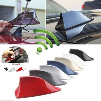 Car with blank radio shark fin fm antenna antena for ford focus skoda chevrolet toyota nissan volvo opel peugeot image