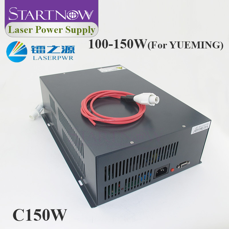 HY-C150 Co2 Laser Source 110V 220V High Voltage PSU 100W 130W 150W Laser Power Supply For Yueming CMA Co2 Laser Cutting Machine