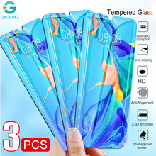 3PCS Tempered Glass For Huawei P20 Pro P30 Mate 20 10 30 Lite P Smart Z Plus 2019 Mate20 Lite Screen Protector Glass Full Glue(China)