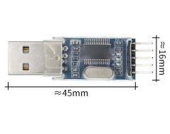 PL2303 PL2303HX/PL2303TA moduł adaptera konwertera USB na RS232 TTL z odporną na kurz pokrywą PL2303HX dla kabla do pobierania arduino 2