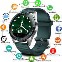 LIGE 2019 nuevo reloj inteligente pantalla LED para hombres monitor de ritmo cardíaco presión arterial reloj deportivo Smartwatch agua reloj inteligente mujer