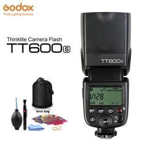 Godox TT600S GN60 2.4G Wireless Camera Flash Speedlite for Sony A7II/A7/A7r/A7s/A7RII/A7SII/RX10 III/A6000/A6100/A6300/A6500/A99(China)