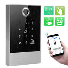 Smart Access Control Machine Bluetooth Password Card IP66 Waterproof for TTlock APP Operating for families, hotels, offices
