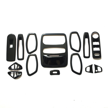 For Renault Captur 2013-2016 ABS Switch handle bowl vent outlet air condition armrest lift glass read seat steering wheel 14 PCS