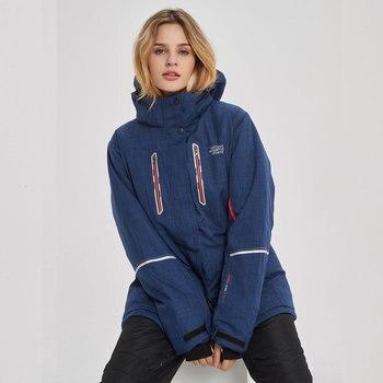 Snowboard Suits Women Winter Windproof Waterproof Female Ski Jacket And Snow Pants Sets Super Warm Brands Women Ski Suit Brands