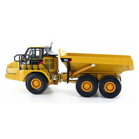 Diecast Masters #85073 1/50 Scale Caterpillar 725 Articulated Dump Truck Vehicle CAT Engineering Truck Model Cars Gift Toys