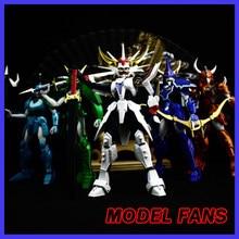 Modelos de fãs instock ronin guerreiros yoroiden samurai trooper seiji data ryo sanada shin mouri touma hashiba armadura de pano de metal mais