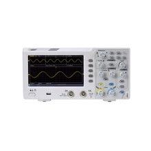 Osciloscopio de almacenamiento Digital Owon SDS1102, 2 canales, ancho de banda de 100Mhz, pantalla LCD portátil de 7 pulgadas, osciloscopio USB