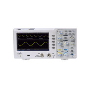 Image 1 - Owon SDS1102 Digital Storage Oscilloscope 2 Channels 100Mhz Bandwidth 7 Handheld LCD Display Portable USB Oscilloscopes