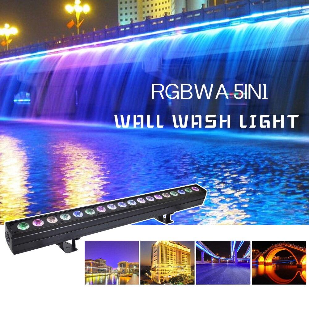Светодиодная стойка для сценических светильников 9X10 Вт RGBW 4в1 светодиодный настенный светильник Освещение сцены Эффект настенный светодио... - 2
